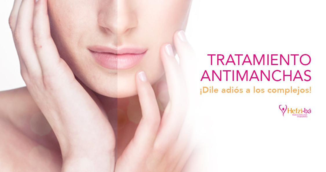 Tratamiento anti-manchas (Dile adiós a los complejos)
